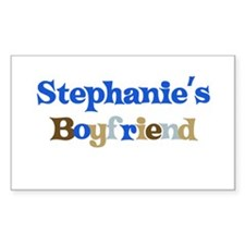 Stephanie's Boyfriend Rectangle Decal