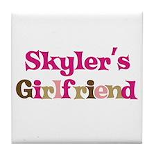 Skyler's Girlfriend Tile Coaster