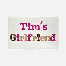 Tim's Girlfriend Rectangle Magnet (10 pack)