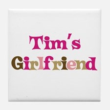Tim's Girlfriend Tile Coaster