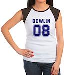 Bowlin 08 Women's Cap Sleeve T-Shirt
