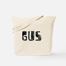 Gus Faded (Black) Tote Bag