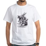 White Rabbit 2 White T-Shirt