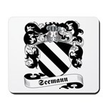 Seemann Family Crest Mousepad