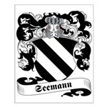 Seemann Family Crest Small Poster