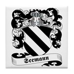 Seemann Family Crest Tile Coaster