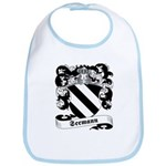 Seemann Family Crest Bib
