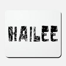 Hailee Faded (Black) Mousepad
