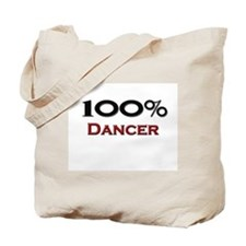 100 Percent Dancer Tote Bag