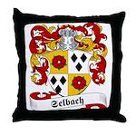 Selbach Family Crest Throw Pillow