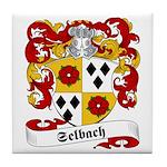 Selbach Family Crest Tile Coaster