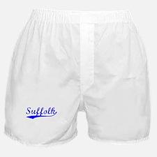 Vintage Suffolk (Blue) Boxer Shorts