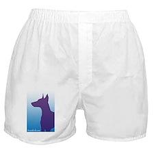 Sky Blue Doberman Boxer Shorts