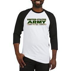 United States Army Baseball Jersey