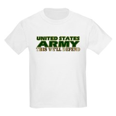 United States Army Kids T-Shirt