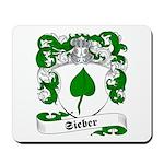 Sieber Family Crest Mousepad