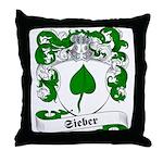 Sieber Family Crest Throw Pillow