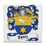 Spatz Family Crest Tile Coaster