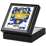 Spatz Family Crest Keepsake Box