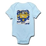 Spatz Family Crest Infant Creeper