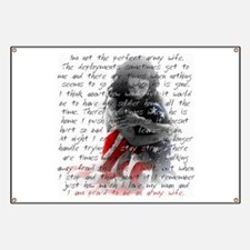 ARMY WIFE POEM Banner
