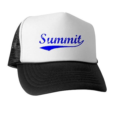Vintage Summit (Blue) Trucker Hat