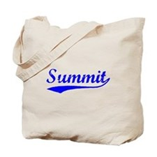 Vintage Summit (Blue) Tote Bag