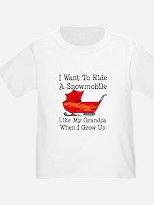 Ride A Snowmobile Like Grandpa T
