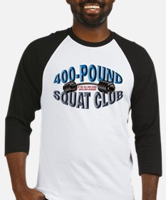 SQUAT 400 CLUB! Baseball Jersey
