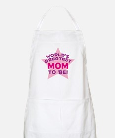 WORLD'S GREATEST MOM TO BE! BBQ Apron