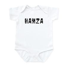 Hamza Faded (Black) Infant Bodysuit