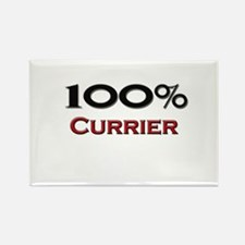 100 Percent Currier Rectangle Magnet