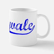 Vintage Sunnyvale (Blue) Small Small Mug