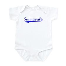 Vintage Sunnyvale (Blue) Infant Bodysuit