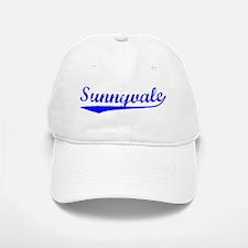 Vintage Sunnyvale (Blue) Baseball Baseball Cap