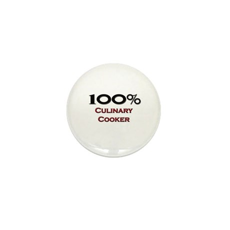100 Percent Culinary Cooker Mini Button (10 pack)
