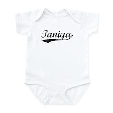 Vintage Taniya (Black) Infant Bodysuit