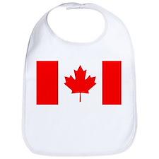 Canadian Flag Bib