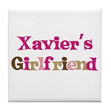 Xavier's Girlfriend Tile Coaster