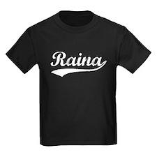 Vintage Raina (Silver) T