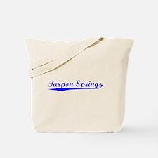 Vintage Tarpon Spr.. (Blue) Tote Bag