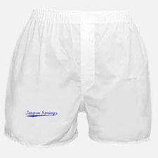 Vintage Tarpon Spr.. (Blue) Boxer Shorts