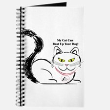 My cat can beat up your dog Journal