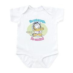 I'm not Messy...Garfield Baby Infant Bodysuit