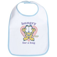 Hungry for a Hug Garfield Bib