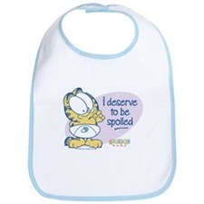 Spoiled Baby Garfield Bib