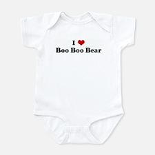 I Love Boo Boo Bear Infant Bodysuit