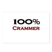 100 Percent Crammer Postcards (Package of 8)