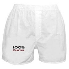 100 Percent Crafter Boxer Shorts