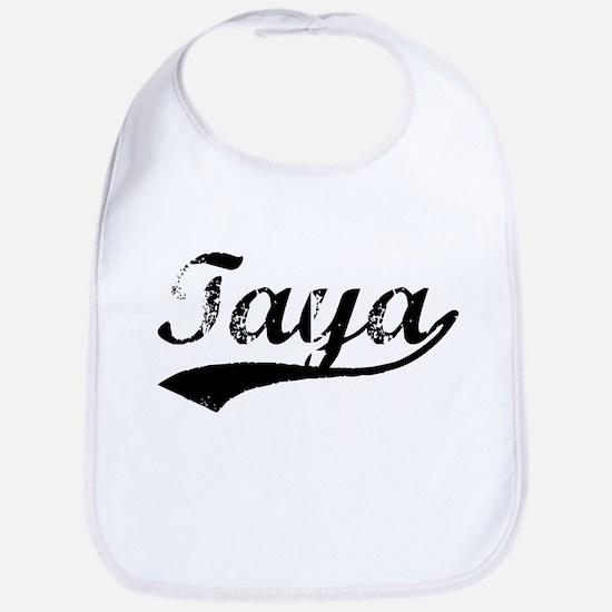 Vintage Taya (Black) Bib